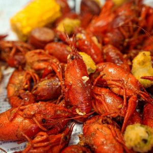 5 lb Cooked Crawfish