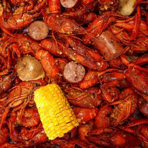 10 lb Cooked Crawfish